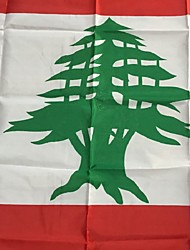 3X5 Feet Lebanon Flag 90 * 150Cm World Flags Events Party Festival Parade Lift Home Furnishings