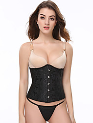 Corset Underbust Heavy Duty mulheres Sexy  Shaper Corpete Corselet