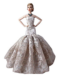 Party & Evening Dresses For Barbie Doll Ivory Dresses