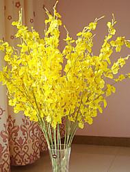 Silk Oncidium Artificial Flowers Multicolor Optional 1pc/set