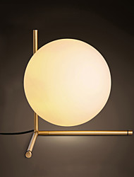 Lampe de table-Moderne/Contemporain-Métal-Protection des yeux