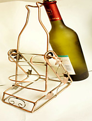 Wine Rack Wine Bottle Holder Swing Pouring Rack Iron Wine Racks Restaurant Gift Ornaments