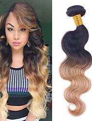 Ombre Brasilianisches Haar Wellen 1 Stück Haar webt