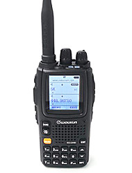 WOUXUN KG-UV9D PLUS Walkie Talkie 5W 2000mAh 136-174MHz / 400-520MHz 2000mAh 3 km -5kmFM Radio / Notruf / PC-Software programmierbar /
