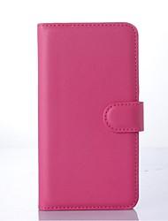 PU portefeuille en cuir porte-téléphone en relief pour nokia lumia 540