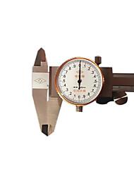 precisão 0-150mm ferramenta de medição do nível de pinças instrumento 0,02 marcação