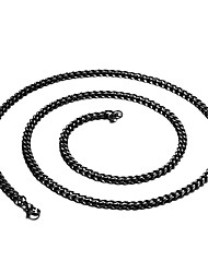 Men's Women's Chain Necklaces Stainless Steel Fashion Jewelry For Daily Casual