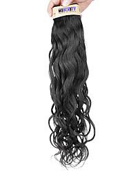 """1 pc / lot 12 """"-22"""" 6a cheveux vierges malaisien vague naturelle de cheveux humains trames de 100% cheveux remy malaisienne non"""