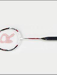 Raquettes de badminton(Rouge,Alliage d'aluminium) -Indéformable / Durable