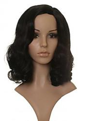 новое прибытие короткие светлые коричневые волосы волнистые женщины синтетический парик
