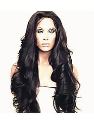 """brasilianische reine Haarkörperwelle glueless volle Spitze Menschenhaarperücken für schwarze Frauen 10 """"-30"""""""
