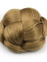 mariée crépus or bouclés europe cheveux humains capless perruques chignons sp-130 1011