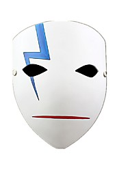 Masque Cosplay Fête / Célébration Déguisement Halloween Blanc Imprimé Masque Halloween Unisexe