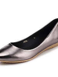 Women's Shoes Wedge Heel Wedges / Pointed Toe Heels Office & Career / Dress / Casual Black / Pink / Silver / Gold