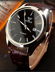 Men's Fashion Watch Calendar Stylish Waterproof Blu-Ray Lovers Watch Quartz Watch Men And Women