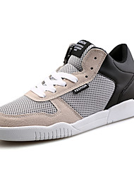 Summer Autumn Men's Breathable Mesh Middle-top Skateboarding Shoes for Dancing Athletic Sports Or Hip-hop