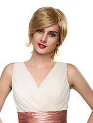 Fashion Natural Long Beautiful Virgin Remy Hair Long Women Wig Before Hand Tied