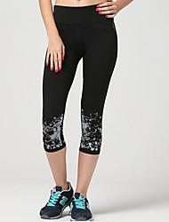 Damen Laufhosen Atmungsaktiv Weich Videokompression Sanft Leggins Unten für Übung & Fitness Laufen S M L XL