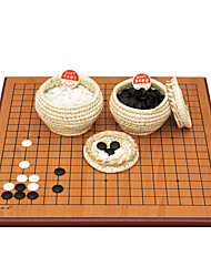 Royal St china peças de xadrez de madeira dois lados data de dupla utilização placa de 2,5 cm + b nova nuvem / placa + 5 pontos