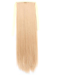 Wig Golden 60CM High-Temperature Wire Strap Style Pony Tail Straight Hair Wig Colour 26