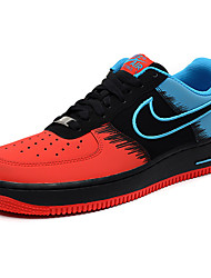 Nike Air Force 1 Round Toe / Sneakers / Casual Shoes / Running Shoes / Skateboarding Shoes Men's Wearproof Red / Black / Blue