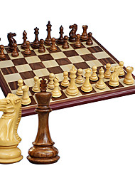 In 2010 Games With Hua Limu Boxwood Chess Chess Wooden Tuba 4591 Pieces + Star Anise