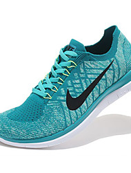 Nike Free 4.0 Flyknit Round Toe / Sneakers / Running Shoes / Casual Shoes Men's Wearproof Green / BlueRunning/Jogging / Leisure Sports /