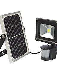 10W Lampe Solaire LED 900 lm Blanc Chaud / Blanc Froid LED Intégrée Pile V 1 pièces
