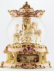 abs pink / gold / weiß kreative romantische Musik-Box für Geschenk