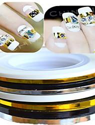 1 Autocollant d'art de clou Bijoux pour ongles Autre décorations Abstrait Adorable Mariage Maquillage cosmétique Nail Art Design