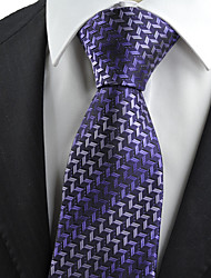 KissTies Men's Diamond Pattern Novelty Microfiber Tie Necktie With Gift Box (5 Colors Available)