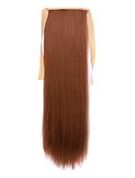 longue prêle perruque de cheveux raides marron Longeur 60cm type de liaison synthétique (couleur 27a)