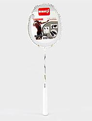 Raquettes de badminton(Blanc,Alliage d'aluminium) -Indéformable / Durable