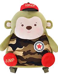 Genuine Mi Rabbit Metoo Senbao Monkey Shoulder Bag Children Backpack Stuffed Plush Toys Bags Camouflage Bag Treasure