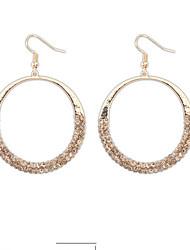 Damen Ohrring Legierung Ohne Stein Ohrringe aus Kronleuchter