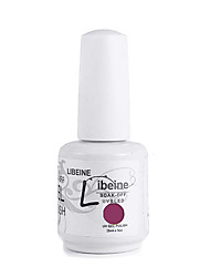 LIBEINE 3 pcs/lot 15 ML UV Color Gel Nail Polish No.055(Awesome Rosy-red)