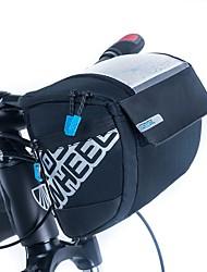 ROSWHEEL® Bolsa de Bicicleta 3LBolsa para Guidão de BicicletaZíper á Prova-de-Água / Á Prova de Humidade / Camurça de Vaca á