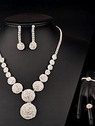 Ensemble de bijoux Femme Anniversaire / Mariage / Cadeau / Sorée / Occasion spéciale Parures Stras CristalColliers décoratifs / Bracelets