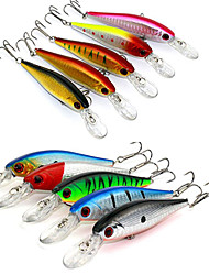 10.5cm 9.5g/Pcs Lure Fishing Tackle Lure Bionic Bait Lure Fishing Lure Minnow Crankbait Trout Tackle 10 Pcs/set