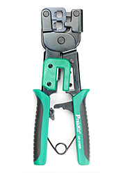 Pro'Skit® Iron Handles Network Cable Crystal Head Pressure Pliers