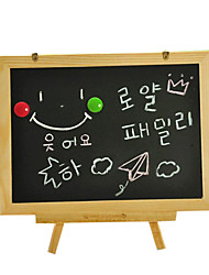 les trois piliers de type portable double petit tableau noir, la planche à dessin pour enfants, tablette magnétique