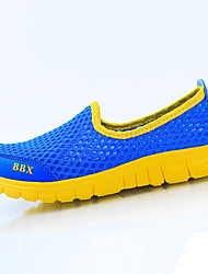 Girl's Sneakers Summer Comfort Tulle Casual Blue Yellow Red White
