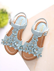 Girls' Shoes Casual Comfort PU Sandals Blue