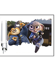 Anime Movie Zootopia Home Decor Wall Scroll Poster 50*70CM