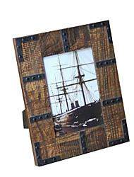 5 * 7 * 1 en bois massif de style / americano européen cadre photo millésime