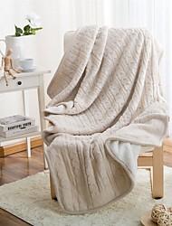 """Трикотаж В соответствии с фото,Сплошная Сплошная 100% акрил одеяла 120*180cm(47.2""""*70.8"""")"""