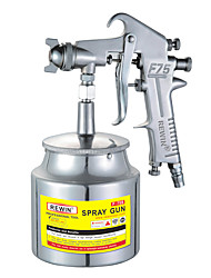 REWIN® TOOL Pneumatic Paint Sprayer Lower Pot Spray Gun(F-75S)