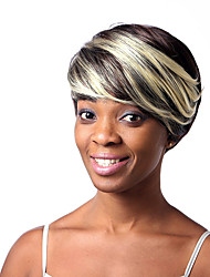 Popular! Synthetic wigs Short Straight hair Blonde Brown Natural wigs for women