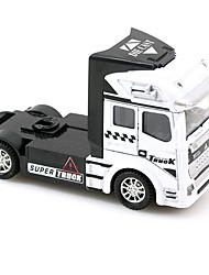 Dibang -1434 puesto de juguetes educativos coche de juguete contenedor vender frontal 1:50 de aleación modelo de coche para niños (4pcs)
