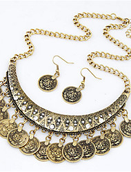 Alloy Jewelry Set Necklace/Earrings Party / Daily / Casual 1set